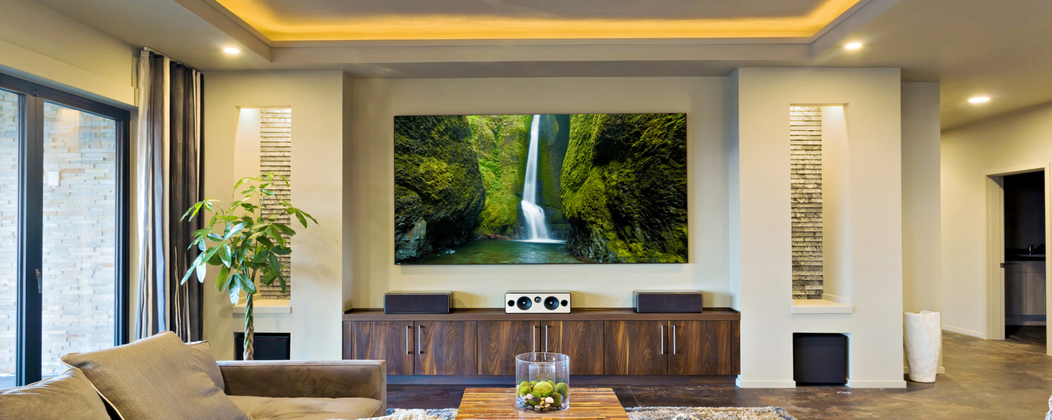 Home Theater Installation   Beast Electric